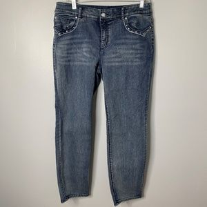 Chico's Straight Crop Jeans